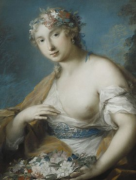 Rosalba Carriera: Flora