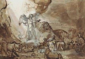 Rembrandt van Rijn: Verkündigung an die Hirten