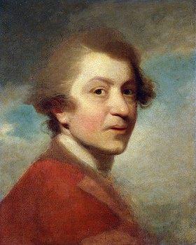 Sir Joshua Reynolds: Selbstbildnis in der roten Jacke eines Doktor der Rechtswissenschaften (unvollendet)
