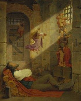 Moritz von Schwind: Der Traum des Gefangenen