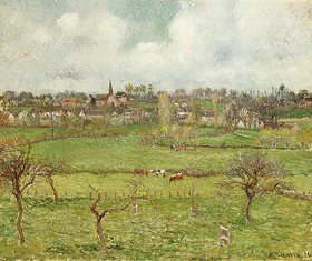 Camille Pissarro: Ansicht von Bazincourt