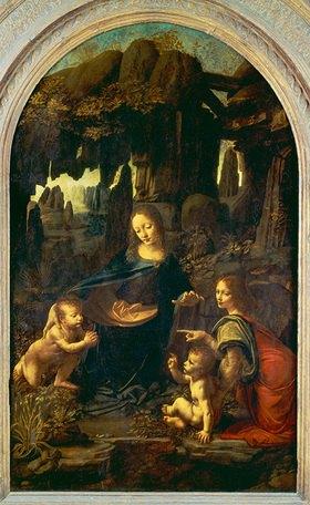 Leonardo da Vinci: Die Felsengrottenmadonn