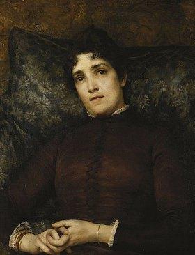 Sir Lawrence Alma-Tadema: Bildnis von Mrs. Frank D. Millet