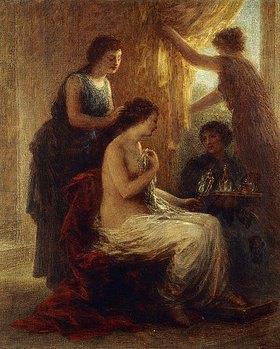 Henri de Fantin-Latour: La Toilette