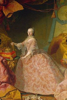Martin Mytens (Meytens) d.J.: Maria Theresia im Spitzenkleid