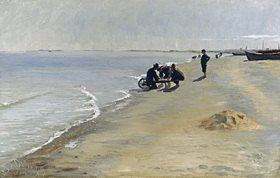 Peter Severin Kroyer: Südstrand bei Skagen