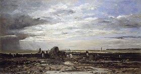 Charles-François Daubigny: Die Muschelbänke von Villerville