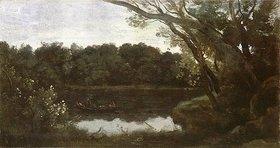 Jean-Baptiste Camille Corot: Der Teich von Ville d'Avray am Abend