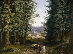 Jacob Philipp Hackert: Kloster S. Eremo di Camaldoli