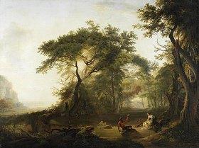 Albert Christoph Dies: Landschaft mit der Erziehung des Jupiter