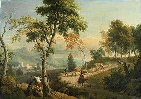 Christian Wilhelm Dietrich: Südliche Landschaft