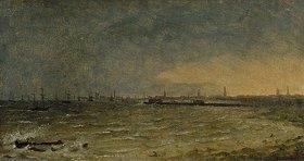 Thomas Fearnley: Kopenhagen von der Seeseite