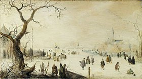 Hendrick Avercamp: Winterlandschaft