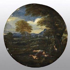 Francesco Giovane: Narziss. Mitte 17. Jahrhundert