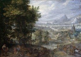 Jan Brueghel d.Ä.: Bewaldete Landschaft