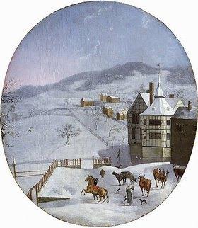 Jakob Grimmer: Winterlandschaft