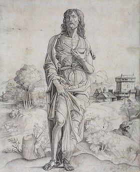 Giulio Campagnola: Johannes der Täufer
