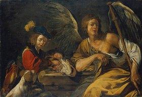 Mattia Preti: Tobias und der Engel