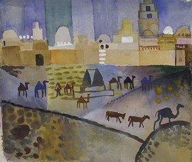 August Macke: Kairouan I