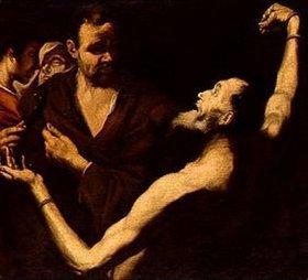Jusepe de Ribera: Martyrium des hl. Bartholomäus