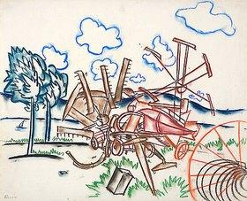 Walter Ophey: Feldmaschinen