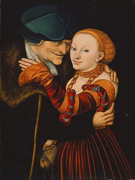 Lucas Cranach d.Ä.: Der alte Buhler