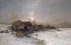 Anton Windmaier sen.: Winterlandschaft