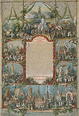Peter Herwegen: König Ludwig, dem Kunstbeschützer. Aus dem König-Ludwig-Alb
