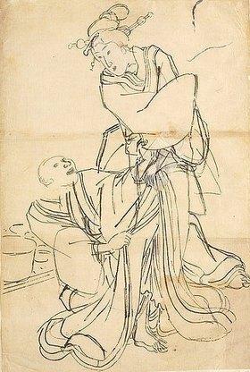 Utagawa Kuniyoshi: Ein Liebesantrag