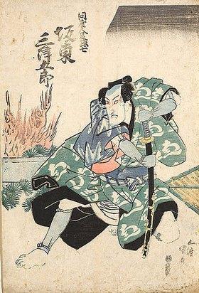 Utagawa Kunisada: Bando Mitsugoro III. als Magoshichi