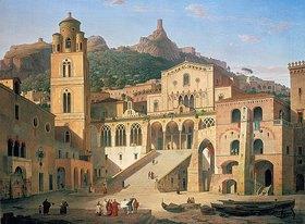 Leo von Klenze: Der Domplatz von Amalfi