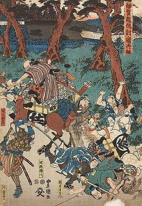 Utagawa Kunisada: Die Blutrache bei Iga, neu aufgelegt