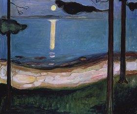 Edvard Munch: Mondnacht