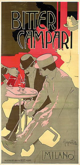 Adolf Hohenstein: Bitter Campari