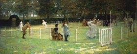 Sir John Lavery: Die Tennispartie