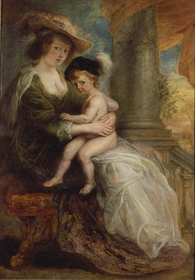 Peter Paul Rubens: Helene Fourment mit ihrem erstgeborenen Sohn Frans