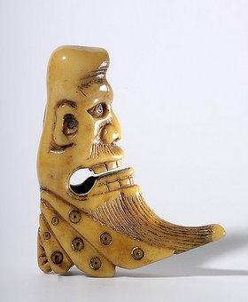 Kopf eines Ausländers.  17. - 18. Jahrhundert