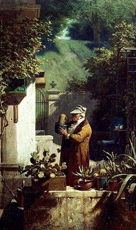Carl Spitzweg: Der Kaktusfreund. Vor