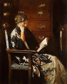 Edmund Charles Tarbell: Mary beim Lesen