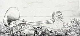 Max Klinger: Ein Handschuh - Triumph