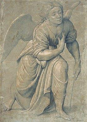 Giovanni Francesco Caroto: Engel der Verkündigung
