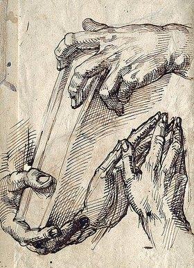 Bartolomeo Passarotti: Studie zweier Handpaare