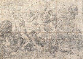Giovanni Paolo Melchiori: Ceres und Bacchus als Sommer und Herbst