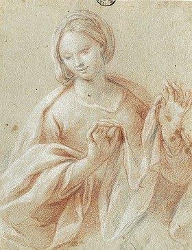 Giovanni Paolo Melchiori: Studie für die Madonna