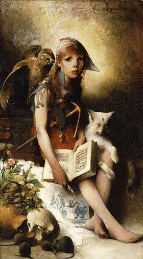 Carl Larsson: Die Tochter der Hexe