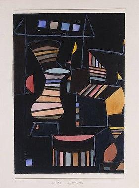 Paul Klee: Künstlicher Hof