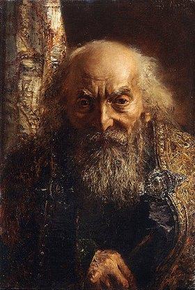 Adolph von Menzel: Der Rabbi von Baghdad