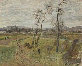 Claude Monet: Die Ebene von Gennevilliers