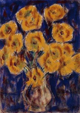 Christian Rohlfs: Chrysanthemen