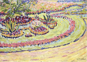 Ernst Ludwig Kirchner: Blumenbeete